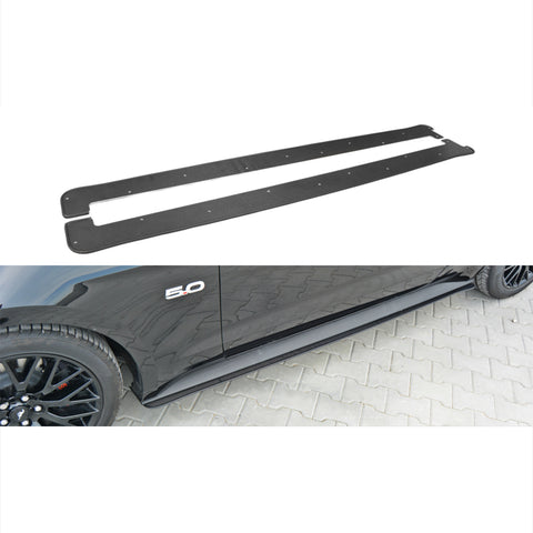 Maxton Design Racing Side Skirts for the Ford Mustang