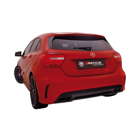 Mercedes A45 AMG Remus Exhausts Cat Back System