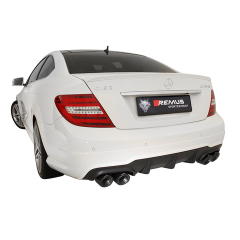 Mercedes C63 AMG Remus Exhausts Cat Back System