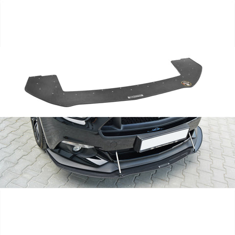 Maxton Design Front Racing Splitter for the Ford Mustang