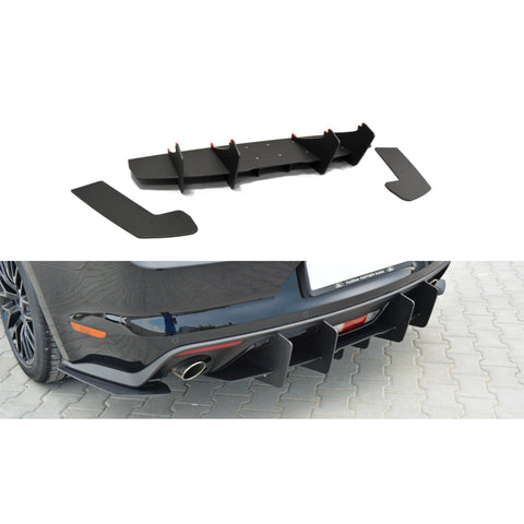 Maxton Design Rear Diffuser for Ford Mustang