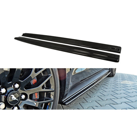 Mustang Maxton Design Rear Side Skirts Diffusers