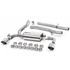 Milltek Sport Non-Resonated Cat Back Exhaust - Ford Focus RS Mk3