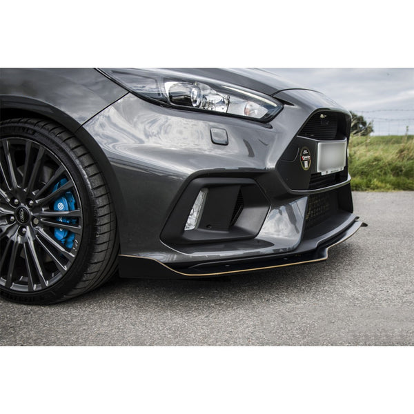 Maxton Design Areo Front Splitter on the Focus RS Mk3