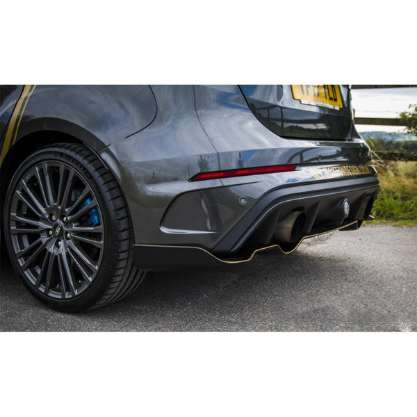 Maxton Design Aero Rear Splitter on the Focus RS Mk3