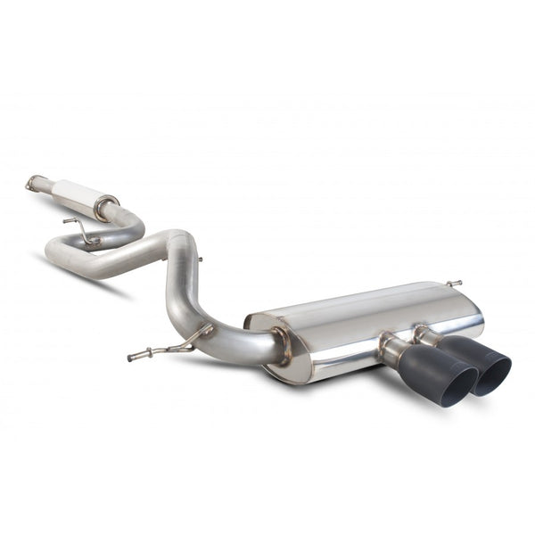 Scorpion Exhausts Resonated Cat Back - Black - Ford Focus ST Mk3