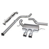 Turbo Back Exhaust Non Resonated Sports Catalyst for Focus ST
