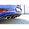 Maxton Design Rear Diffuser - VW Golf R MK7 Facelift