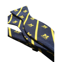Michigan Rugby Bow Tie - Navy/Maize