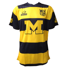 Michigan Home Replica Rhino Jersey - Maize/Blue