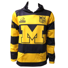 Michigan Rhino Hoodie - Maize/Blue