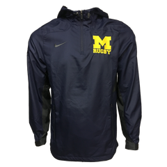 Nike Michigan Rugby 1/4 Zip Jacket