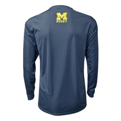 Michigan Rugby Athletic Long Sleeve Shirt
