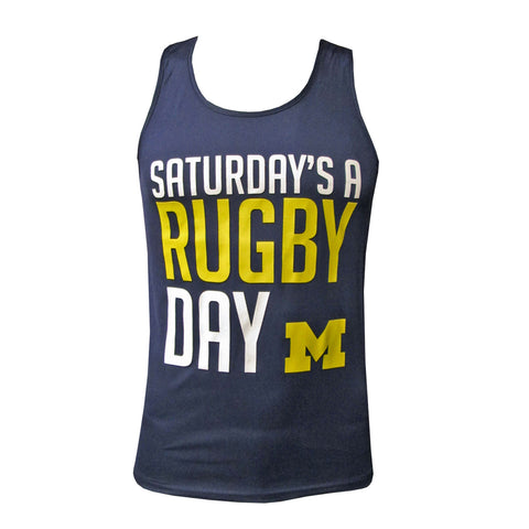 Michigan Rugby Saturday's A Rugby Day Tank Top
