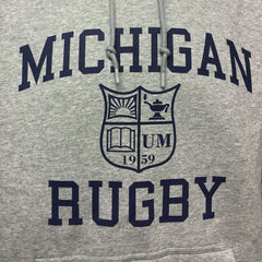 Michigan Nike Hoodies - Grey