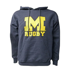 Michigan Rugby Hooded Sweatshirt