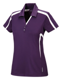 T1658W Ladies Sport Red Accelerate Performance Polo