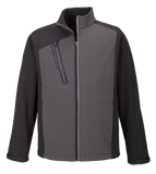 T1711M Mens Terrain Colorblock Soft Shell Jacket