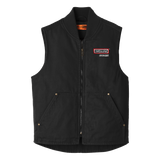 T1829 Mens Washed Duck Cloth Vest
