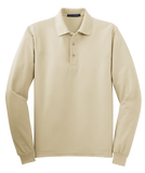 T1504M  Silk Touch Long Sleve Polo