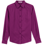 T1501W Ladies Easy Care Long Sleeve Shirt