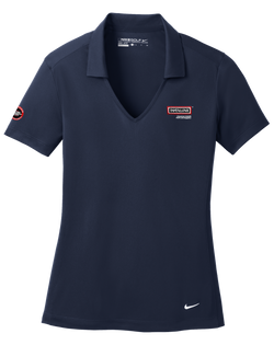 T1507W Ladies Nike Golf Vertical Mesh Polo