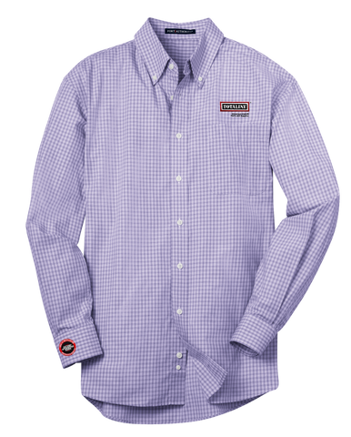 T1532M  Plaid Pattern Easy Care Shirt