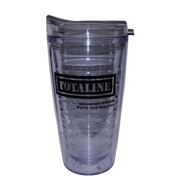 T1570  16 oz.  Double Wall Tumbler with Straw