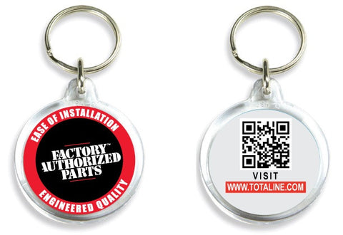 T1586  Totaline/FAP Acrylic Key Ring