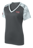 T1625W Ladies Sport-Tek CamoHex Colorblock Tee