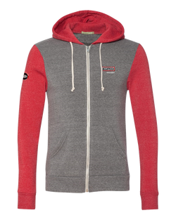 T1654M Mens Colorblock Rocky Eco-Fleece Hoodie
