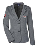 T1704 Ladies Fairfield Herringbone Soft Blazer
