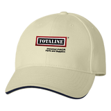 T1734 USA Made Structured Sandwich Visor Cap