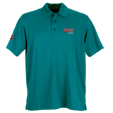 T1803M Mens Omega Solid Mesh Tech Polo