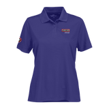 T1803W Ladies Omega Solid Mesh Tech Polo