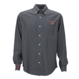 T1809M Mens Hudson Denim Long Sleeve Shirt