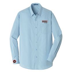 T1826M Men's Micro Tattersall Easy Care Shirt