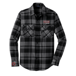 T1827M Mens Plaid Flannel Shirt