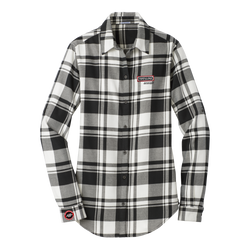 T1827W Ladies Plaid Flannel Shirt