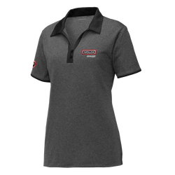 T1830W Ladies Heather Contender Contrast Polo