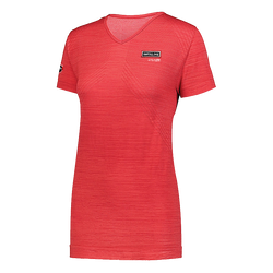 T1849W Ladies Striated Short Sleeve T-Shirt