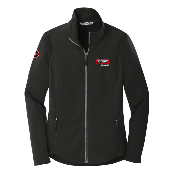 T1912W Ladies Smooth Fleece Jacket