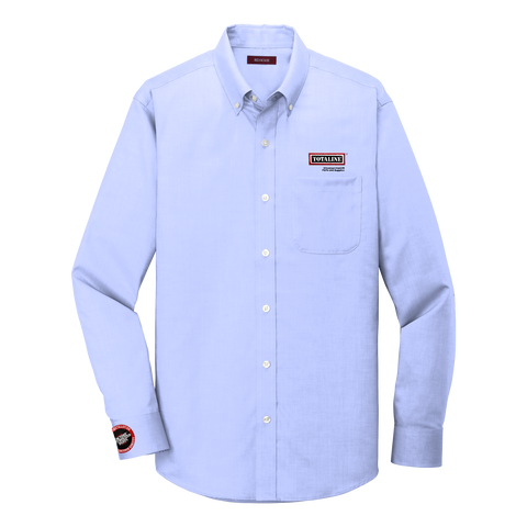 T1915T Mens Tall Fit Pinpoint Oxford Non-Iron Shirt