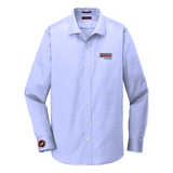 T1915S Mens Slim Fit Pinpoint Oxford Non-Iron Shirt