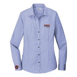T1915W Ladies Pinpoint Oxford Non-Iron Shirt