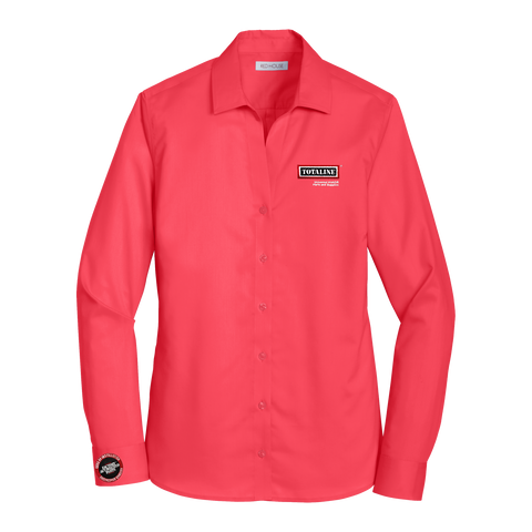 T1916W Ladies Non-Iron Twill Shirt