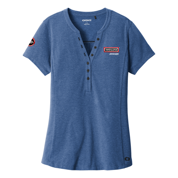 T1918W Ladies Tread Henley