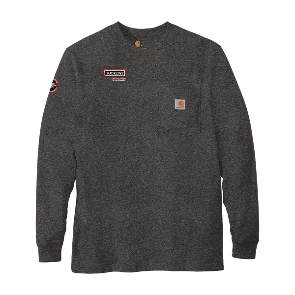 T1929 Mens Workwear Pocket Long Sleeve T-Shirt