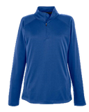 T1703W Ladies Stretch Compass 1/4-Zip