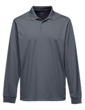 T1645M Mens Long Sleeve Vital Polo